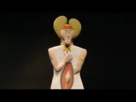 """Die Statue des """"Keltenfürsten vom Glauberg"""""""