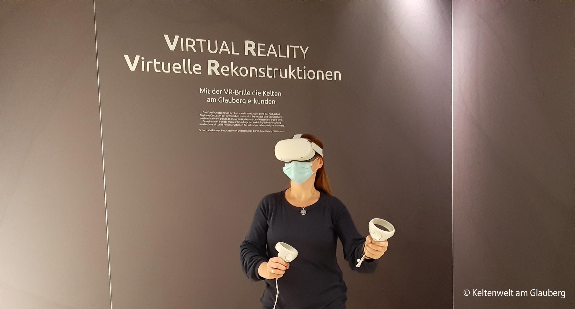 Virtuelle Realität am Glauberg